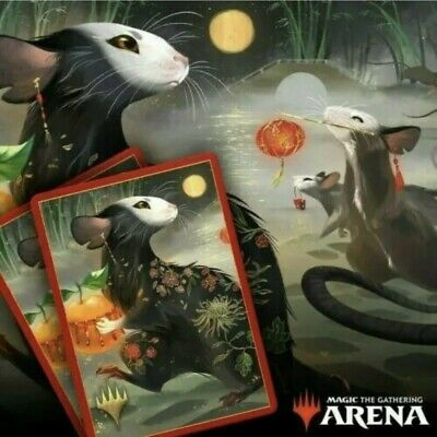 Magic The Gathering Arena Secret Lair Year Of The Rat Sleeve Code, Free Shipping