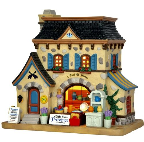 Lemax Caddington Village A Touch of Provence #55955 BNIB Lighted Building