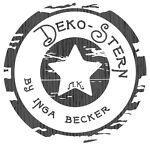 Deko-Stern by Inga Becker