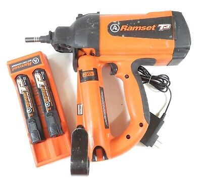 Itw Ramset T3 V2 Actuated Single Shot Gas Nailerfastening Tool For Concrete