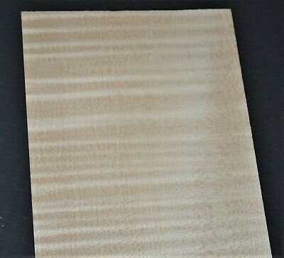 Curly Maple Raw Wood Veneer Sheets 4.75 X 25 Inches 142nd 7717-19