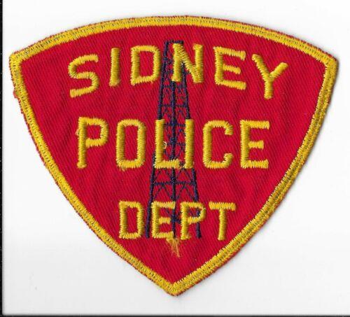 Sidney Police Department, Nebraska Shoulder Patch