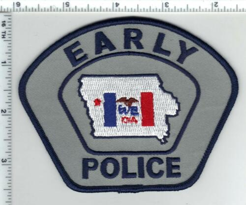 Early Police (Iowa)  Shoulder Patch - new from 1989
