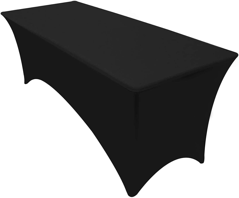 Utopia Kitchen Rectangular Stretch Tablecloth Spandex Tight