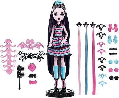 Mattel Monster High DVH36 - Partyhaar Draculaura Spielset Zubehör Frisur Neuware