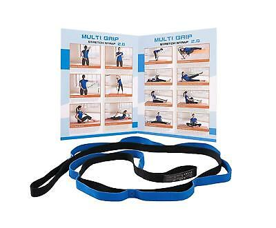 - Yoga Strap Stretch Band with 10 Loops Physical Therapy for Best Flexibility