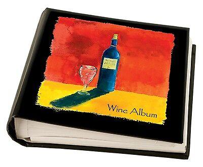 Deluxe Wine Album with 30 Label Removers