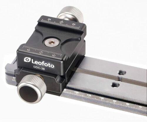 [US Dealer]Leofoto DDC-38 Bidirectional Subtend Double Clamp MINI CLAMP w/ Plate