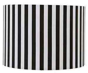 8-10-12-Black-White-Stripe-Lampshade-Ceiling-Pendant
