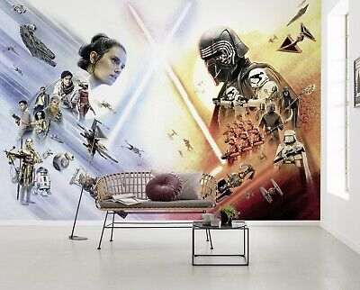 Giant Wall mural photo Wallpaper Star Wars EP9 teen's room decor giant size post