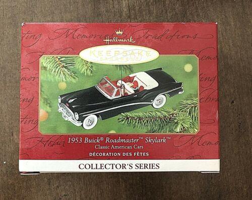 1953 BUICK ROADMASTER SKYLARK Classic American Cars 2001 Hallmark Ornament  EUC