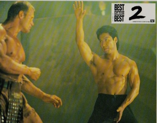 Eric ROBERTS Phillip RHEE Ralf MOELLE  8 french lobby cards  BEST OF THE BEST 2