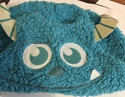 DISNEY MONSTERS UNIVERSITY BLUE SULLY PLUSH HALLOWEEN COSTUME - SIZE 2T](Monsters University Halloween Costume)
