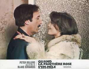 Peter Sellers Lesley Anne Down The Pink Panther Strikes ...