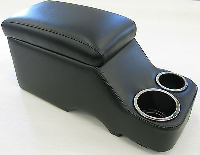 62-78 Chevy Ii Center Console Humphugger Black 235