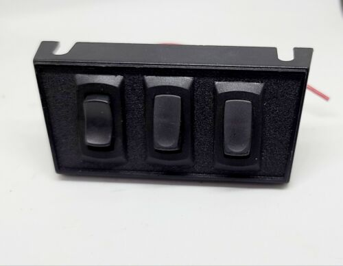 SoundOff Signal Switch panel for lights and siren