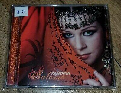 Salomé: The Seventh Veil by Xandria (CD, 2008, KGD Media Distribution) comprar usado  Enviando para Brazil
