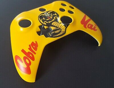 Custom Cobra Kai Xbox One Painted Controller Housing Shell Replacement Front