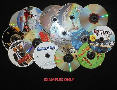 Lot of 100 Loose DVD