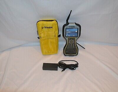 Trimble Tsc3 2.4ghz Data Collector Charger Case No Survey Software Field Control