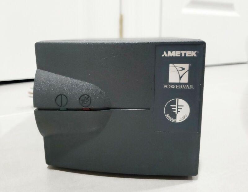 AMETEK POWERVAR ABCG065-11W GROUND GUARD CONDITIONER 2 PLUG