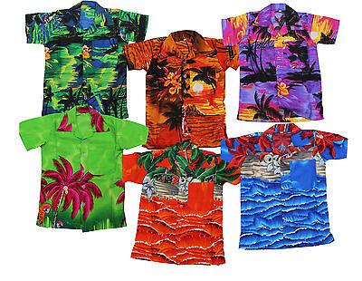 Hawaiihemd Beach Party Jungen Mädchen Kinder Palme Party Kostüm ()