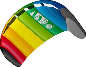 Symphony Beach III 1.3 Rainbow Ready 2 Fly 2 line Sport Kite