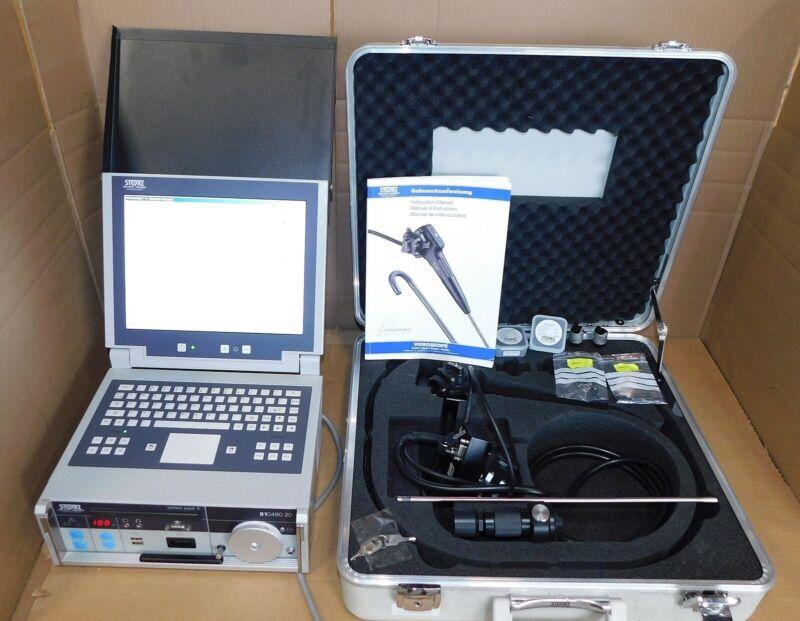 Karl Storz V05021AEMV Videoscope & 81048020 Techno Pack Used
