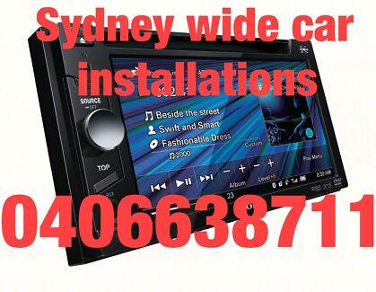 Car audio installations services mobile radio auto electrician Blacktown Blacktown Area Preview