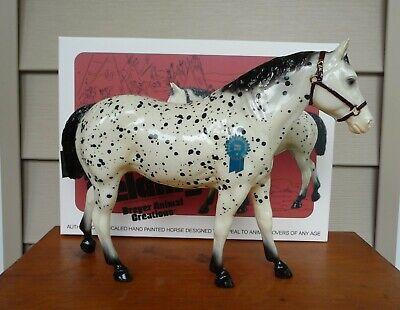 Breyer glossy leopard appaloosa Two Bits Quarter Horse Gelding Vintage Club