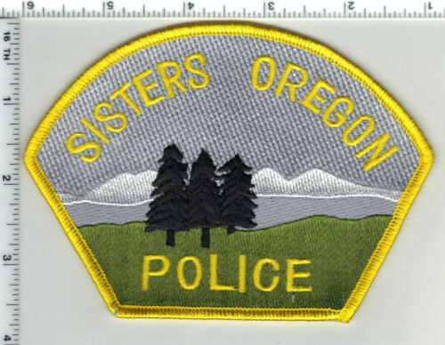 Sisters Police (Oregon) Reproduction Shoulder Patch (never used)