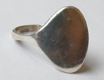 Designer Ring Modernist schlicht zeitlos 925 Silber Vintage 70er ring silver