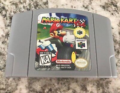 Mario Kart, Nintendo 64 Free/Fast Shipping, US SELLER, Tested!