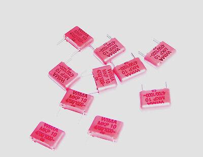 10 Pieces Wima Mkp-10 4700pf 1kv Polypropylene Film Capacitors Hi End Audio