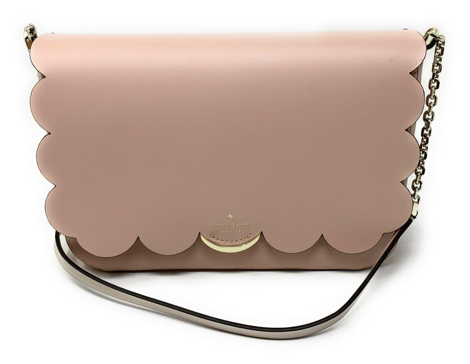 Kate Spade Magnolia Street Izabella Warm Vellum Metallic Crossbody Bag