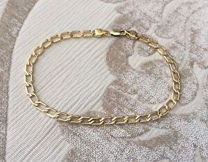 18K gold bracelet for men!