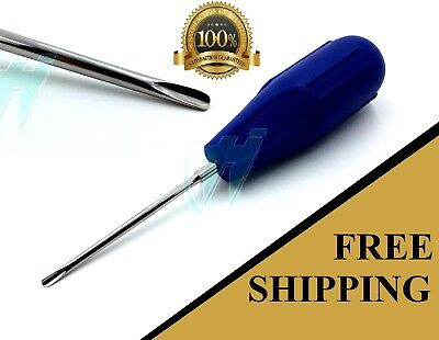 Plastic Handle Dental Luxating Root Tip Extraction Elevator Del 301 Blue