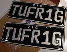 Custom Number Plate TUFR1G Point Cook Wyndham Area Preview