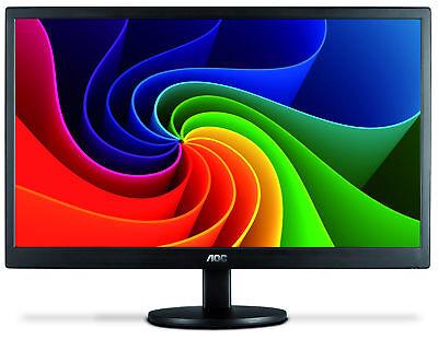 AOC e970swn 18.5-Inch LED-Lit Monitor, 1366 x768 Resolution,