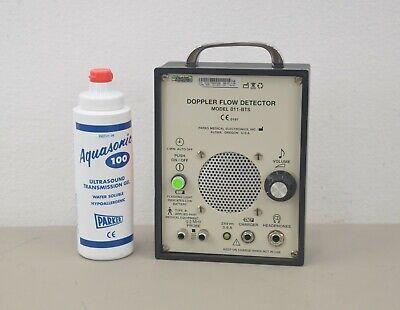 Parks Medical Electronics Model 811-bts Ultrasonic Doppler Flow Detector W Gel