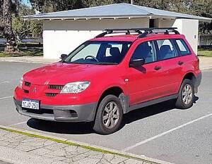 2006 Mitsubishi Outlander Wagon - Big Red Maylands Bayswater Area Preview