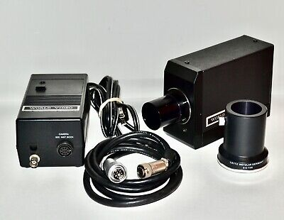 World Video Mos Microscope Color Microimage Camera System Leitz 512736 Laborlux