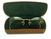 Antique Gold Frame Eye Glasses