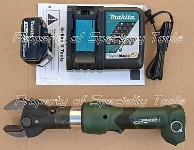 Greenlee Gator Esc35lx Battery Hydraulic Copper Aluminum Wire Cutter 1.38 Tool