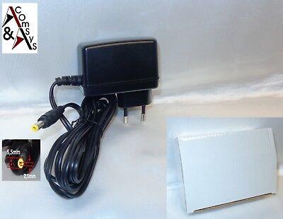 4a Netzteil (Netzteil Adapter Ladegerät Ladekabel 5V/6V 4A 20W Switch Router Kamera 5.5*2.1)