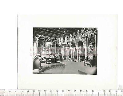 Paul W. JOHN fotografiert: ALLGÄUER ALPEN SCHLOSS INTERIEUR 1925/30