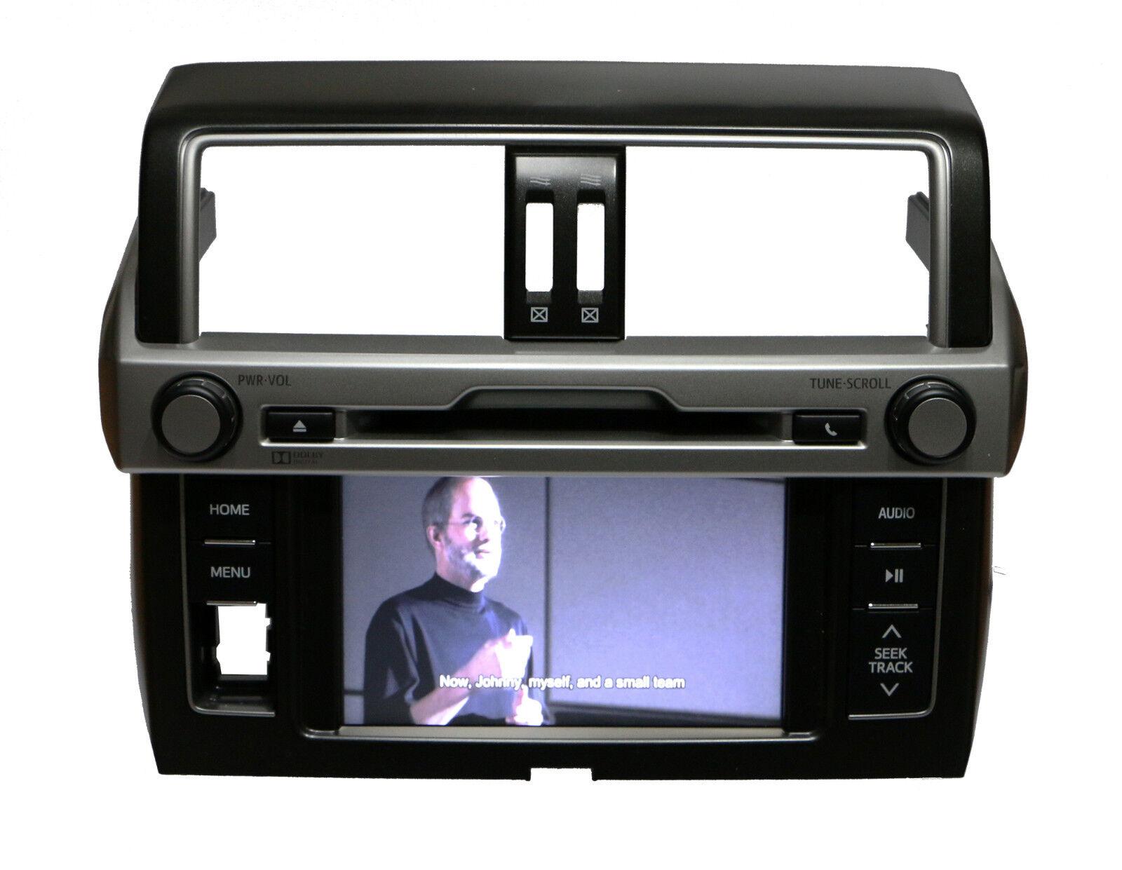 4Toyota Land Cruiser Prado DVD Player Stereo Radio w/ Hazard Switch 86140-60130