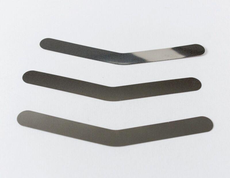 Dental Tofflemire Stainless Steel Matrix Bands .0015 # 1 UNIVERSAL bag of 12
