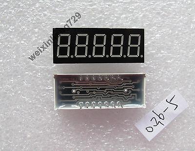 10pcs 0.36 Inch 5 Digit Led Display 7 Seg Segment Common Cathode Red 0.36