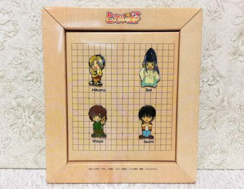 NEW Rare Hikaru no Go Badges Pin Set of 4 Hikaru Sai Waya Isumi Official Japan